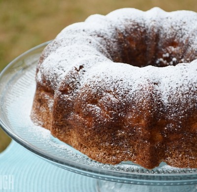 Soft German Apple Bundt Cake