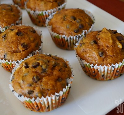 Pumpkin Chocolate Chip Muffins to Make Your Mouth Water