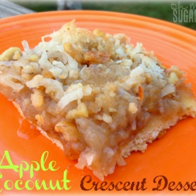 Apple Coconut Crescent Dessert: The Sleeper Dessert