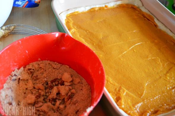 Pumpkin Praline Squares 3