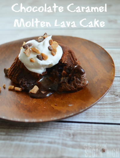 Chocolate Caramel Molten Lava Cake Inspired by The Croods 1