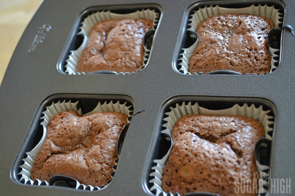 Chocolate Caramel Molten Lava Cake Step 6