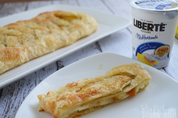 Peach Mango Cream Cheese Danish with Liberte Yogurt 9