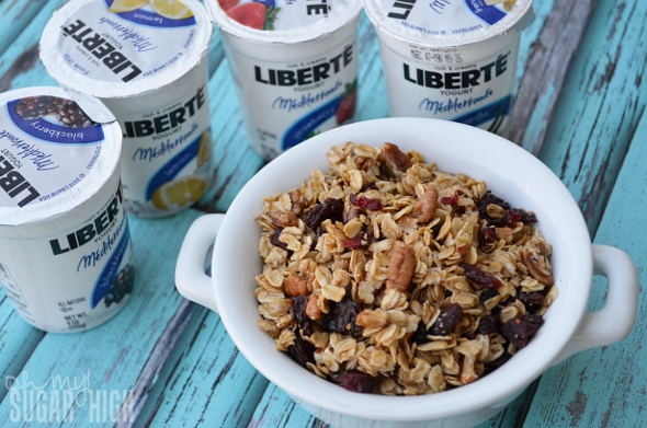 Homemade Granola and Liberte Yogurt 1