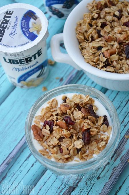 Homemade Granola and Liberte Yogurt 6