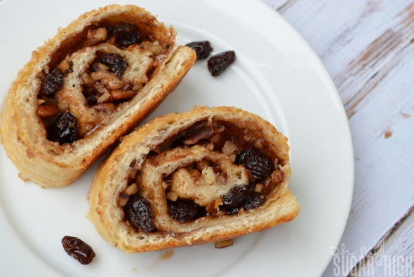 Raisin Pecan French Loaf Close Up