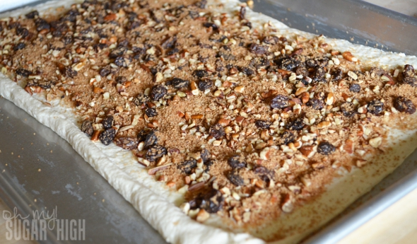 Raisin Pecan French Loaf Filling
