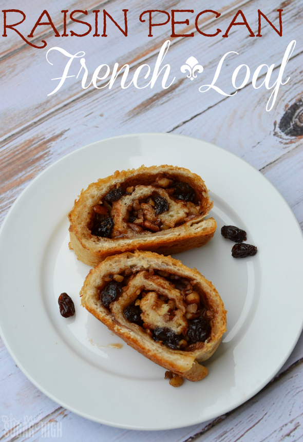 Raisin Pecan French Loaf