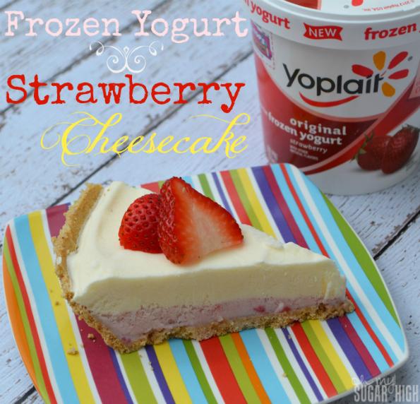 Frozen Yogurt Strawberry Cheesecake Recipe