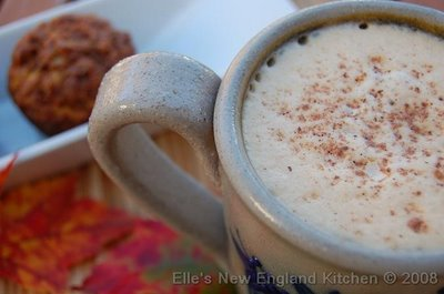 Pumpkin Pie Latte Ellas New England Kitchen