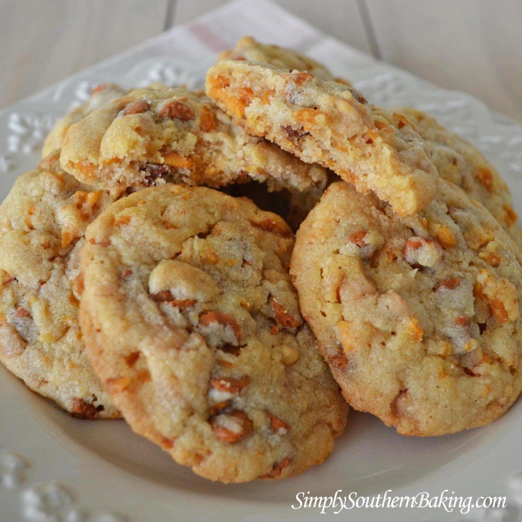 Sweet Potato Cinnamon Chip Toffee Cookies Simply Southern Baking