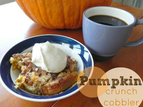 pumpkin crunch cobbler Mad in Crafts