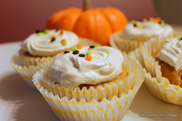 pumpkin cupcakes the country chic cottage