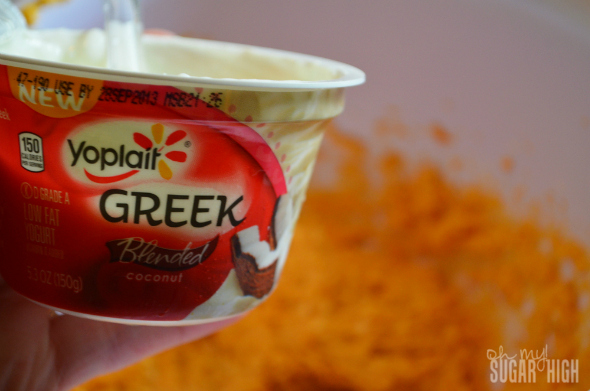 Pumpkin Coconut Fruit Dip Yoplait Greek 2