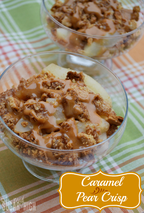 Caramel Pear Crisp Easy Recipe