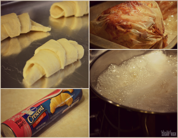 General Mills Holiday Meal Pillsbury Crescent Rolls Meal Prep