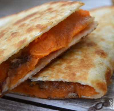Sweet Potato Praline Quesadillas: Easy Leftovers Treat