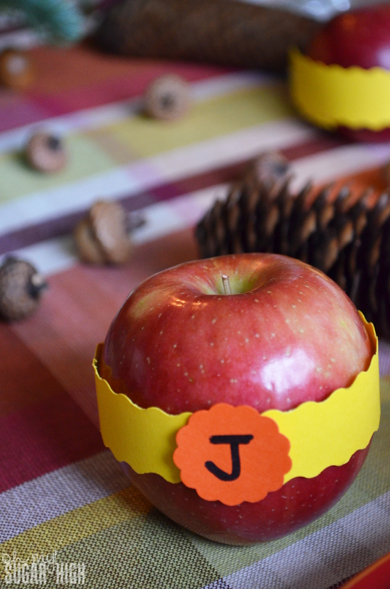 Thanksgiving Tablescape Proflowers Apple Place Card Alternative