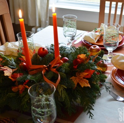 Finding Thanksgiving Tablescape Inspiration #PFDecorates