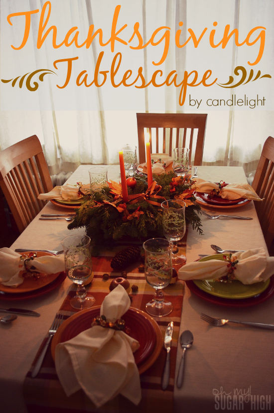 Thanksgiving Tablescape Proflowers Flowers Candlelight
