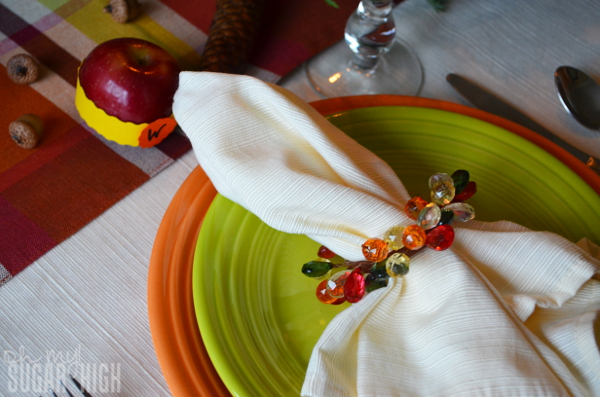 Thanksgiving Tablescape Proflowers Place Setting