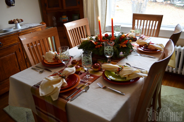 Thanksgiving Tablescape Proflowers Ready to Eat