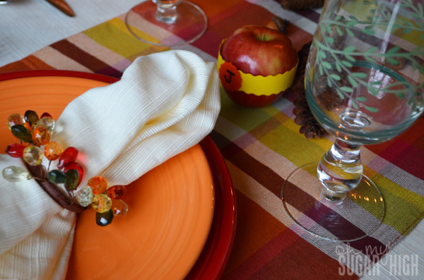 Thanksgiving Tablescape Proflowers Setting Fiesta
