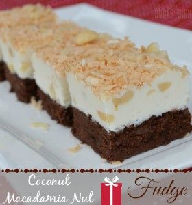 Coconut Macadamia Nut Fudge