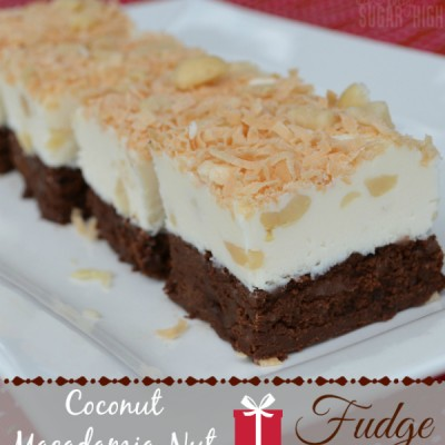 Coconut Macadamia Nut Fudge: A Simple Holiday Treat