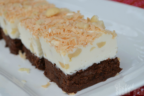 Layered Coconut Macadamia Nut Fudge 2