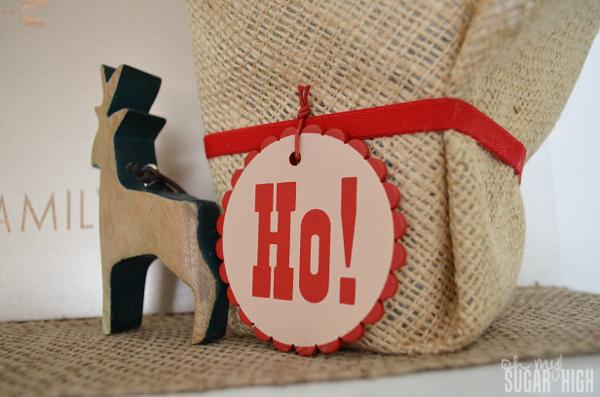 Red Envelope Mantlescape Cyprus Tree Deer Ornament