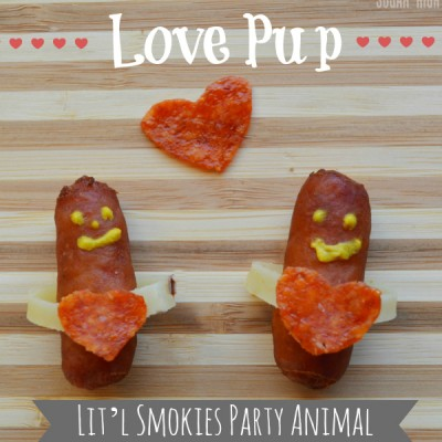 Hillshire Farm Lit'l Smokies Party Animals for the Super Bowl and Valentine's Day