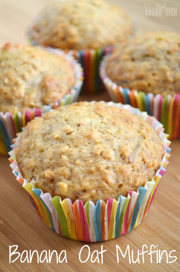 Banana Oat Muffin Recipe