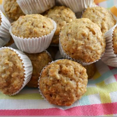 Banana Oat Muffins: Breakfast on the Go