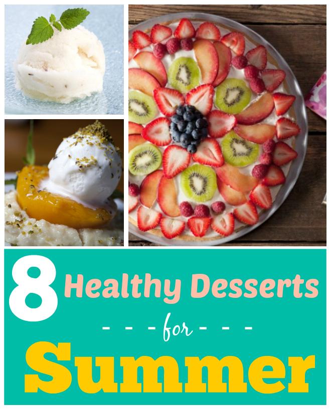 Healthy Dessert Recipes for Summer