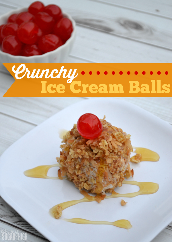 Crunchy Ice Cream Balls Recipe