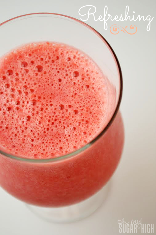 Refreshing Strawberry Raspberry Summer Drink