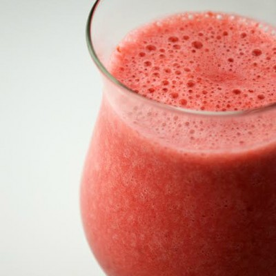 Strawberry Raspberry Refreshing Summer Drink