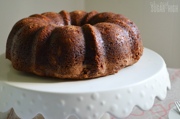 Pineapple Pickle Bundt Cake