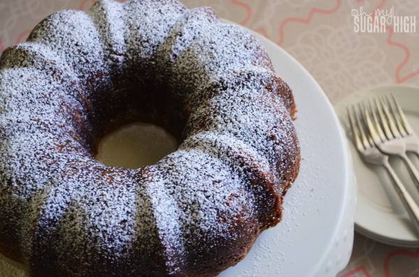 Pineapple and Pickle Bundt Cake