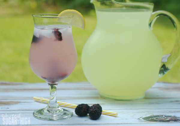 Vodka Blackberry Lemonade