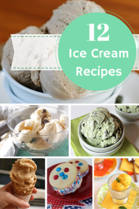 12 Ice Cream Recipes