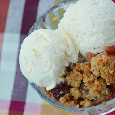 Apple Cranberry Crisp from My Mother-In-Law