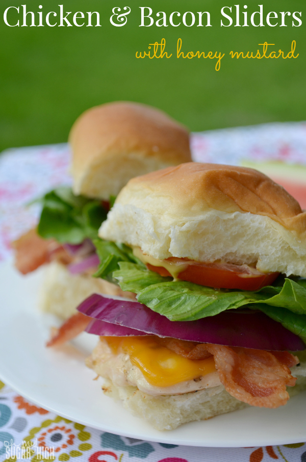 Chicken and Bacon Sliders