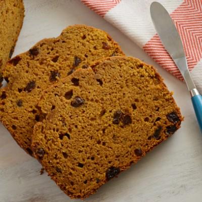 Pumpkin Raisin Bread to Tempt Your Taste Buds