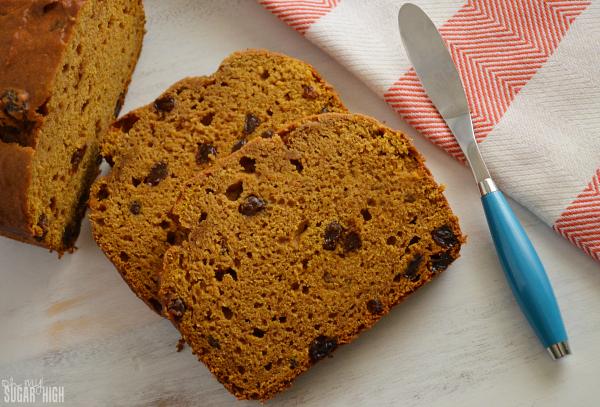 Pumpkin Raisin Bread Recipe