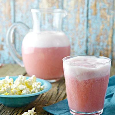 Cranberry Raspberry Sherbet Punch