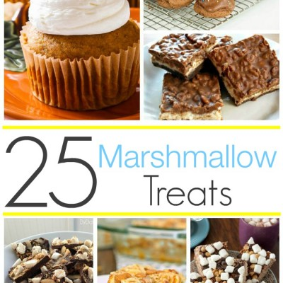 25 Marshmallow Recipes to Tempt You