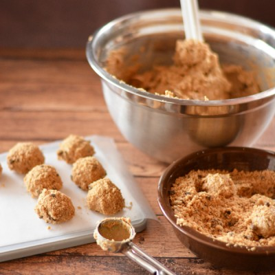 Crunchy Peanut Butter Cookie Balls