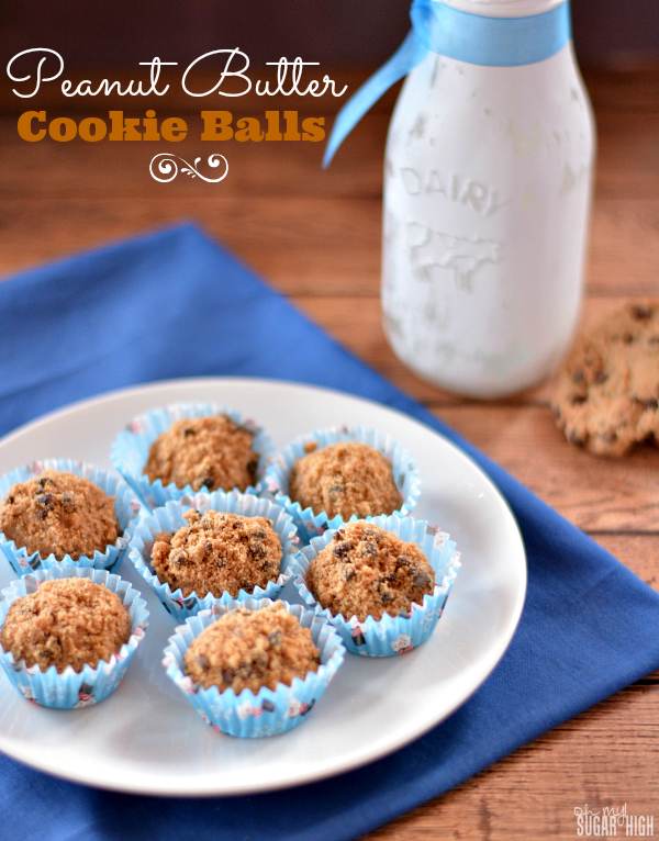 Peanut Butter Cookie Balls Recipe